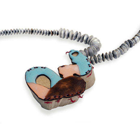 Beate Eismann - Necklace. Picture from http://www.beate-eismann.de